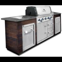Угловая кухня BROIL KING с газовым грилем IMPERIAL 590 BIC (без отделки и столешницы) (MOD2)