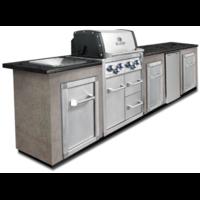 Угловая кухня BROIL KING с газовым грилем IMPERIAL 490 BIC (без отделки и столешницы) (MOD3)