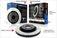 Усиленный Вентилируемый Тормозной Диск T2 SLOT RANGE ROVER VOGUE 4,4 2004+ передний (DBA2092S)