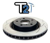Усиленный Вентилируемый Тормозной Диск T2 SLOT TOYOTA HIGHLANDER 08+/LEXUS RX350 09+ задний (DBA2735S)