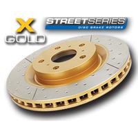 Усиленный Перфорированный Тормозной Диск GOLD TOYOTA HIGHLANDER 08+/LEXUS RX350 09+/NX задний (DBA2735X)