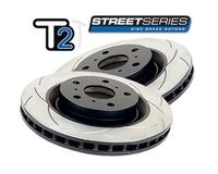 Усиленный Вентилируемый Тормозной Диск T2 SLOT TOYOTA LC90/120 задний (DBA793S)
