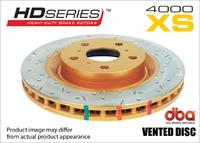 Усиленный перфорированный тормозной диск RANGE ROVER SP 4,4 2004+ задний (DBA42095XS)