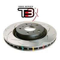 Усиленный тормозной диск T3 SLOT TOYOTA LC200 15+/ Sequoia 08-13, передний (DBA42724S)