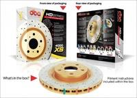 Усиленный Вентилируемый Тормозной Диск MITSBISHI PAJERO SPORT R15 98+ передний (DBA4663X)