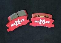 Тормозные колодки BATTLEZ задние Mitsubishi Pajero 00+ (JAOS522310)