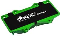 Тормозные колодки DBA Street Performance для Toyota/Lexus GX/FJ/4 Runner/Hilux/Sequoia/Tundra, Mitsubishi Pajero, передние (1482SP)