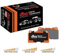 Тормозные колодки DBA Xtreme Performance для Toyota/Lexus GX/FJ/4 Runner/Hilux/Sequoia/Tundra, Mitsubishi Pajero, передние (1482XP)