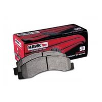 Тормозные колодки HAWK Super Duty TOYOTA LC200/LX570, задние (HB590P.682)