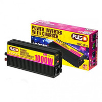 Преобразователь напряжения /зарядное устройство PULSO IMBC-1010/12V-220V/1000W/10A/мод.волна/клеммы (IMBC-1010)