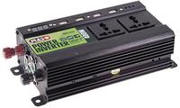 Преобразователь напряжения PULSO/IMU 424/24V-220V/400W/4USB-5VDC2.0A/LED/мод.волна/клеммы (IMU-424)