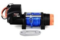 Лебедка для квадроцикла Powerwinch PW6000E-SR-12V-STB с синтетическим тросом и беспроводным пультом 2.7т (PW6000E-SR-12V-STB)