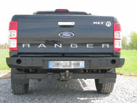 Задний бампер для Ford Ranger T6 (2011-2015) (36197)