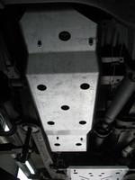 Защита топливного бака для Ford Ranger T6 (2011-2015) (36199)