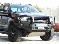 Передний бампер с кенгурятником для Ford Ranger T6 (2015-2019) (36201)