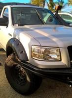 Расширители колесных арок 7см - KUT SNAKE Ford Ranger PJ/PK
