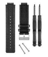 Ремешок для Vivoactiv BLACK LEATHER BAND  Garmin (010-12157-07)