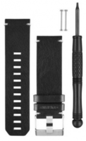 Ремешок Fenix3 BLACK LEATHER WATCH BAND Garmin (010-12168-29)