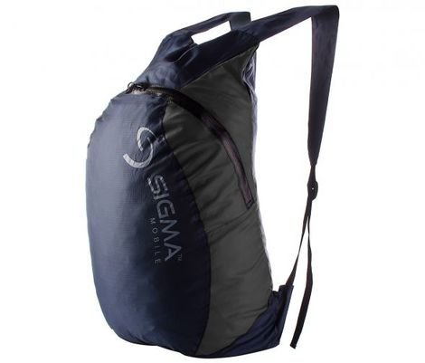 Рюкзак компактный Sigma mobile, сине-серый