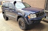 Шноркель Airflow для Jeep Cherokee WK/WH 2005 - 2010. 3,0 V6 CRD, 4,7i V8 5,7i V8 HEMI
