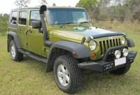 Шноркель Airflow для Jeep Cherokee KJ LIBERTY 2,8 D; 3,8 V6 2002-2007