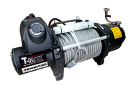 Лебедка для эвакуатора T-Max FEW-16500LBS 24V 7.5т (9529)