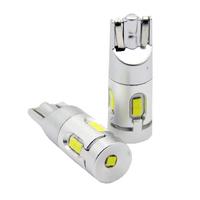 Автомобильная светодиодная лампа головного освещения T10 (W5W) 2 шт (T10 (W5W))
