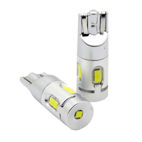 Автомобильная светодиодная лампа головного освещения T10 (W5W) Canbus 2 шт (LJT02W)