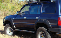 Расширители колесных арок для Toyota Land Cruiser