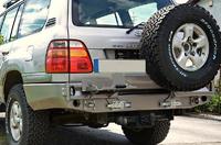 Крепление запасного колеса для Toyota Land Cruiser 100 (1998-2007) (9372)