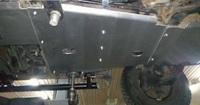 Защита механической коробки передач (дизель) для Toyota Land Cruiser 100 (1998-2007) алюминиевая (8819)