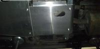 Защита редуктора для Toyota Land Cruiser 100 (1998-2007) алюминиевая