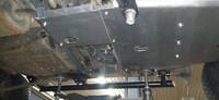 Защита редуктора для Toyota Land Cruiser 100 (1998-2007) с автоматической коробкой передач (дизель) (34667)