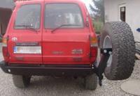 Крепление запасного колеса для Toyota Land Cruiser J80 (1989-1998) (9375)