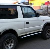 Пороги для Toyota Land Cruiser J90 (1996-2002) (9822)