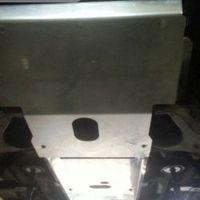 Защита двигателя для Toyota Land Cruiser 95 (1996-2002) алюминиевая (8809)