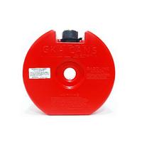 Канистра GKA в запаску «НЗ» 4л красная (GKA-CAN-WHL-RED)