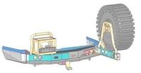 Выносной крепеж запаски ARB RSTB RHS черный для TOYOTA LC200 15+ (5700252)