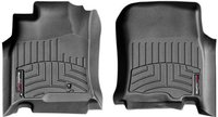 Коврики Weathertech Black для Toyota 4Runner (mkIV)(1 row) 2002-2009 передние (440111)