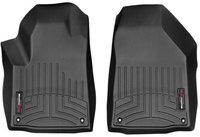 Коврики Weathertech Black для Jeep Cherokee (2013-18) передние (448331)