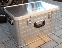 Экспедиционный алюминиевый ящик РИФ 568х377х370