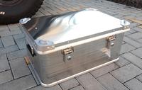 Усиленный экспедиционный алюминиевый ящик РИФ 582х385х277