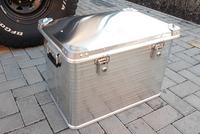 Усиленный экспедиционный алюминиевый ящик РИФ 592х388х409