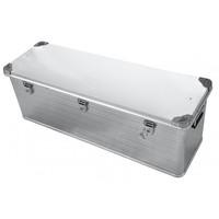 Ящик алюминиевый РИФ усиленный с замком 1176х385х412 мм (E1176385412)