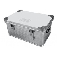 Ящик алюминиевый РИФ усиленный с замком 582х385х277 мм (E582385277)