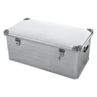 Ящик алюминиевый РИФ усиленный с замком 902х495х379 мм ( E902495379)