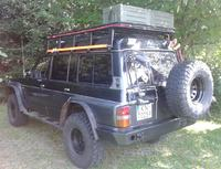 Задний бампер для nissan Patrol Y60 (1989-1997) (8724)