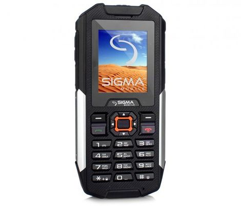 Защищенный телефон SIGMA Х-treme IT68 black