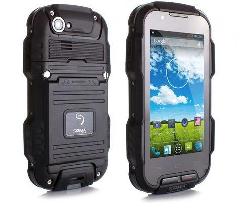 Защищенный телефон SIGMA Х-treme PQ23