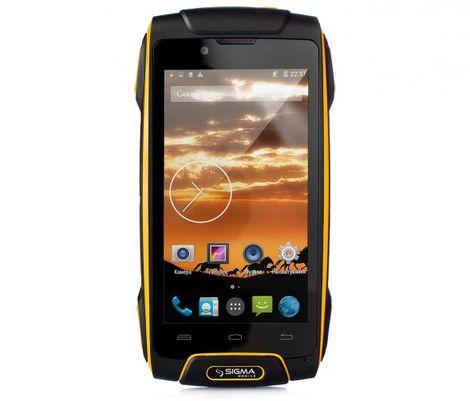 Защищенный телефон SIGMA Х-treme PQ25